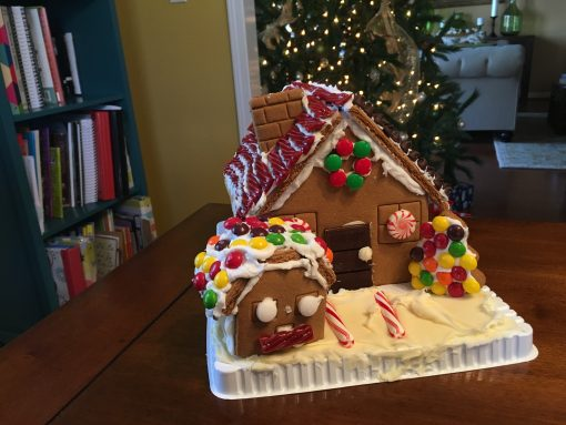A Greeting, A Gingerbread House, And A Song
