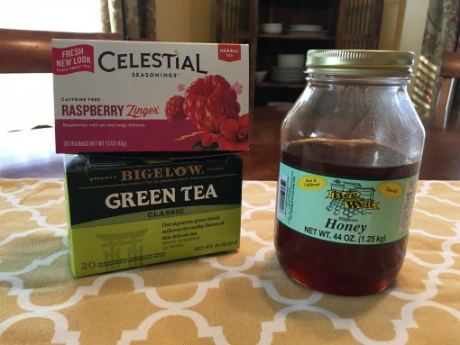 Iced Raspberry Green Tea and How To Make It