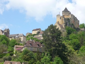 Here's yet another view of Castle Naud.