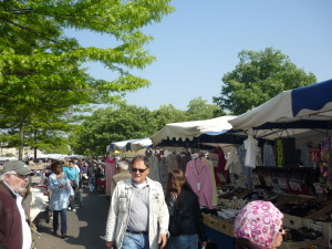 This is an open-air market. There were a lot of booths selling a lot of things!