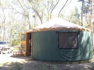 More yurt!