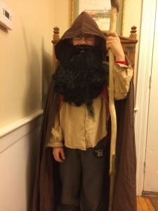 Micah was a dwarf for Halloween :)
