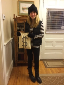 I was an old-fashioned bank robber, or should I say, candy robber :)