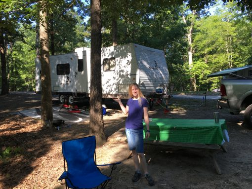 Our First Trip In The Camper