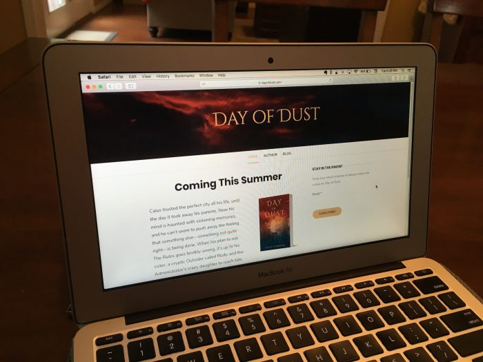 Day of Dust new website